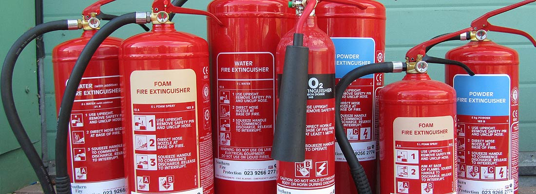 fire protection fire extinguisher manitenance