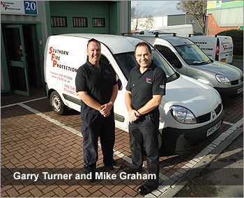 garry and mike of southern fire protection